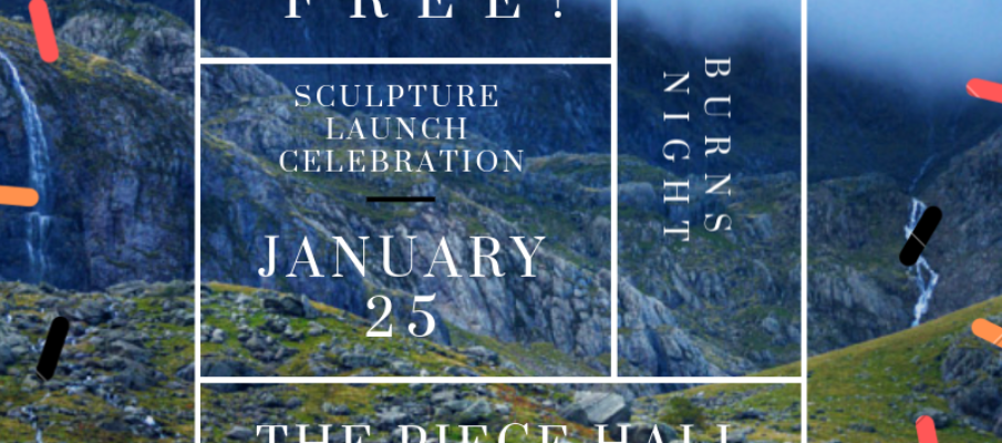 Sculpture Season Launch Party and Burns Night Celebration at the Piece Hall