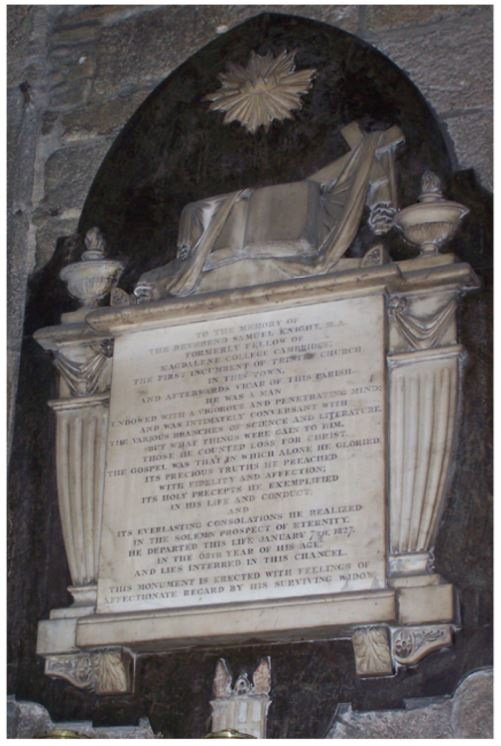 An Abolitionist 'elected' as Vicar of Halifax – Samuel Knight written by David C Glover