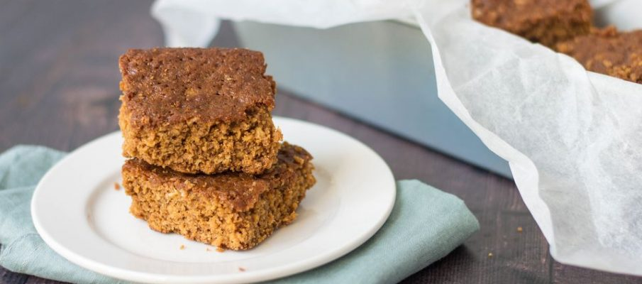 Sticky Parkin Recipe from Angie at Cafe No 5, Elsie Whiteley Centre, Halifax