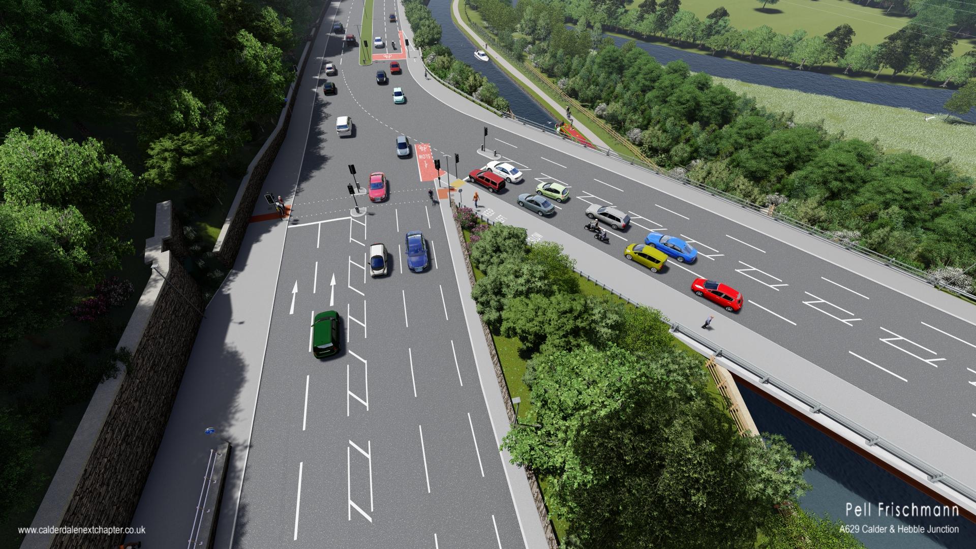 Date for A629 Major Road Improvement scheme Gets Closer!