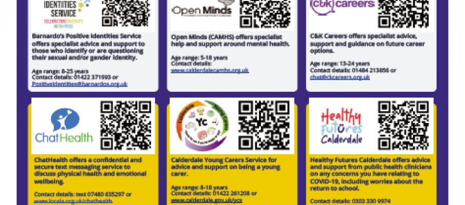 Emotional Health & Wellbeing Service Offer for Children and Young People of Calderdale